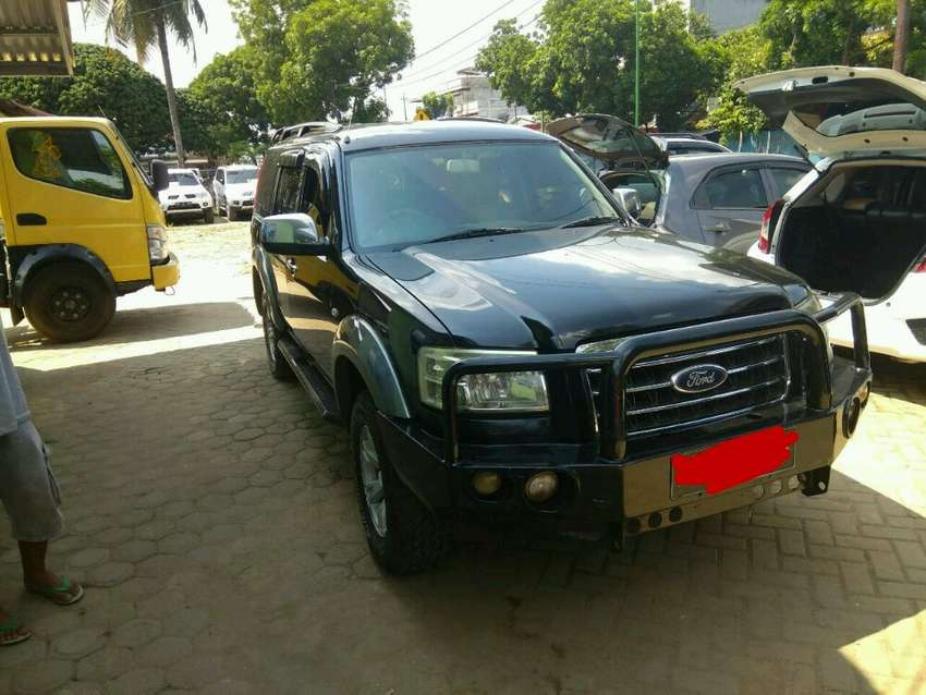 Ford Everest 2008 4x4 manual diesel 0