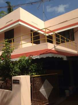 2bhk house available in 1st Floor for rent, DVD colony Kottar