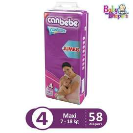 Canbabe Diapers Jumbo Pack