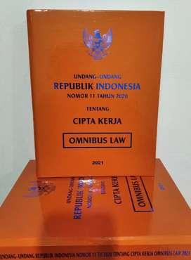 Buku UU No.11 ttg CIPTA KERJA Thn 2020 (TERBARU)