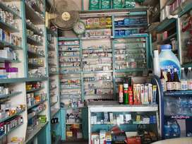 Medical store in business for sale at a prime location in the market.