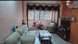 2bhk fully furnished flat with stilt car parking