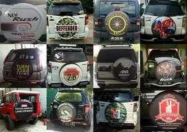 Cover/Sarung Ban Daihatsu Terios/Rush/Vitara/Rocky/CR-V saling menging
