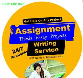 Essay- Projects- Reports- Term Paper- Assignment Writing Services