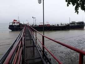 Dijual Oil barge / tongkang minyak 1200 kL