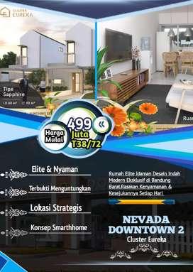 Rumah Dp murah 0% di Nevada Downtown Cimareme Bandung dk Cimahi Cilame