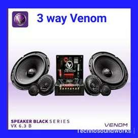 Venom Speaker 3 way VX 6.3B VX6.3B VX 63B grosir paket tv sound VX63B