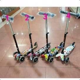 Kickboard Scooter Otoped Motif Anak Skuter Anak Roda 3I