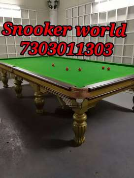 Snooker table manufacturer standard size 6x12