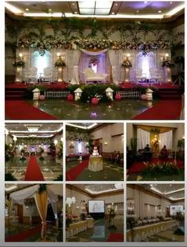 Paket Pernikahan Gedung 500 Orang