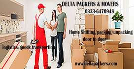 Home shifting/office shifting packing/unpacking door to door