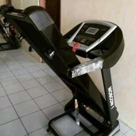 Moscow black Electric Treadmill 3 Fungsi