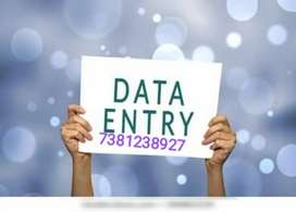 URGENT REQUIREMENT FOR HOME BASED DATA ENTRY WORK