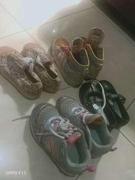 Sepatu anak2 wanita brand adidas original dan merek lainnjya