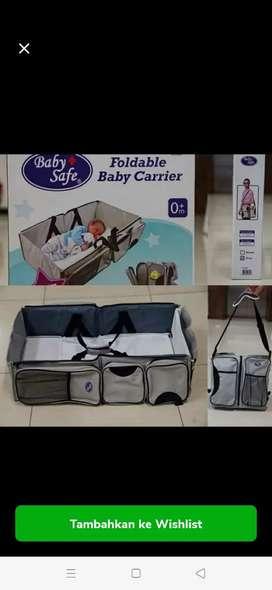 Tempat tidur bayi  yg bisa di bawa kemana mana...