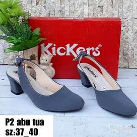 Sepatu cewek wedges merk Kickers hf collection by hf collection