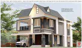 AT VARADIYAM - 2100 SQFT LUXURIOUS VILLA FOR SALE IN THRISSUR TOWN