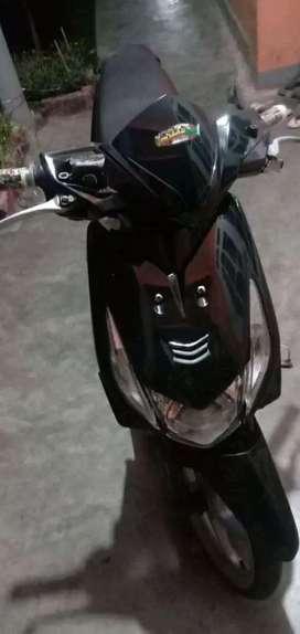 Motor beat karbu bersih
