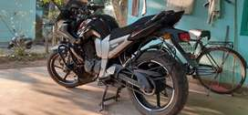 Single handed YAMAHA FAZER 22000 KM driven in NIT & IIT campus only