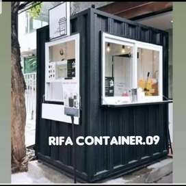 CONTAINER COFFEE SHOP, CONTAINER USAHA, CONTAINER BOOTH, BOOTH LIPAT