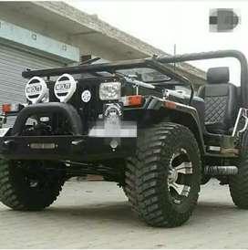 Neolite Mahindra jeep