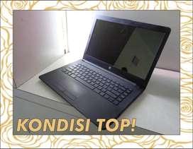 Laptop HP 14-bw0xx Processor AMD E2-9000e - KONDISI TOP !