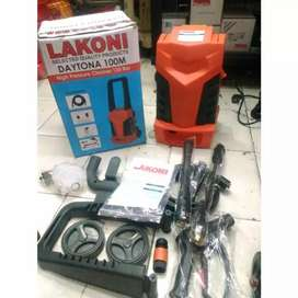 Mesin Jet Cleaner Lakoni Daytona 100M Steam Cuci Mobil 700 W 135 BAR