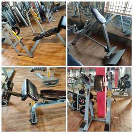 Gym equipments Commercial use full set up imported machines