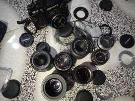 Set lensa manual