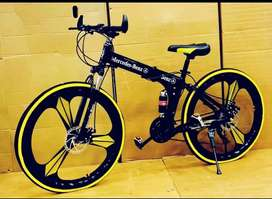 New Mercedes Benz 21 Gears Shimano folding cycle in Faridabad