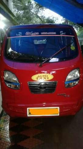 Tata iris magic, auto taxi,  2015 model,  red color