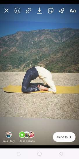 Yoga classes available here. Plz contact.