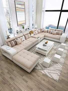 Promo Sofa Minimalis Leter U Kualitas Premium Gratis Ongkir