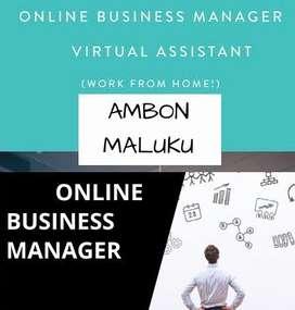 DICARI ONLINE BUSINESS MANAGER AREA AMBON MALUKU