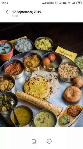 Traditional thali restaurant