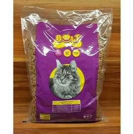 Makanan / Pakan Kucing Bolt Dry Food 1kg