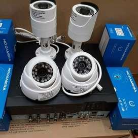 Paket kamera cctv 4channel lengkap tinggal pasang