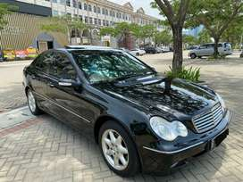 Jual Mercedes Benz C240 AT 2003 LOW MILEAGE 20.000 ONLY.Owner langsung