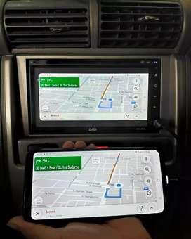 Double Din DHD Fitur Terlengkap Mirrorlink USB Bluetooth