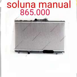 Radiator mesin soluna merk tips korea