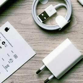 Charger Original iPhone 5/5s/5c/5 SE + Kabel Data Original Lightining
