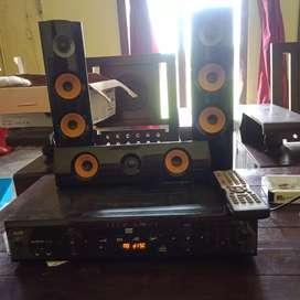 Speaker LG dan DVD