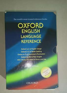 Oxford English language reference.5 books