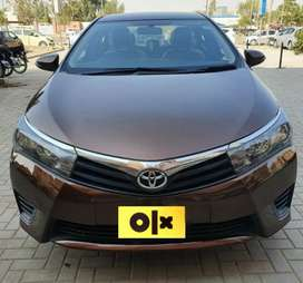 Toyota Corolla Altis 2015 On Instalment
