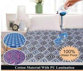 printed waterproof bedsheet available in lowest price
