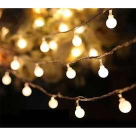 Goodland Lampu Hias Dekor Cherry Ball Fairy 5M Warm White - LY2020WW -