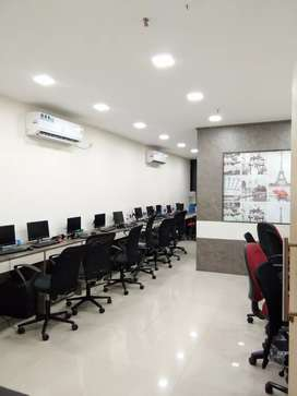 Full furnished office spase available in newtown area