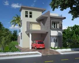 Duplex house near Hanspal