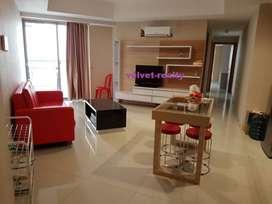Disewakan Apt The Mansion Kemayoran 2 BR luas 62m2 Furnsih #VR553