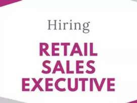 Require sales person (male/female) for Branded company showroom.
